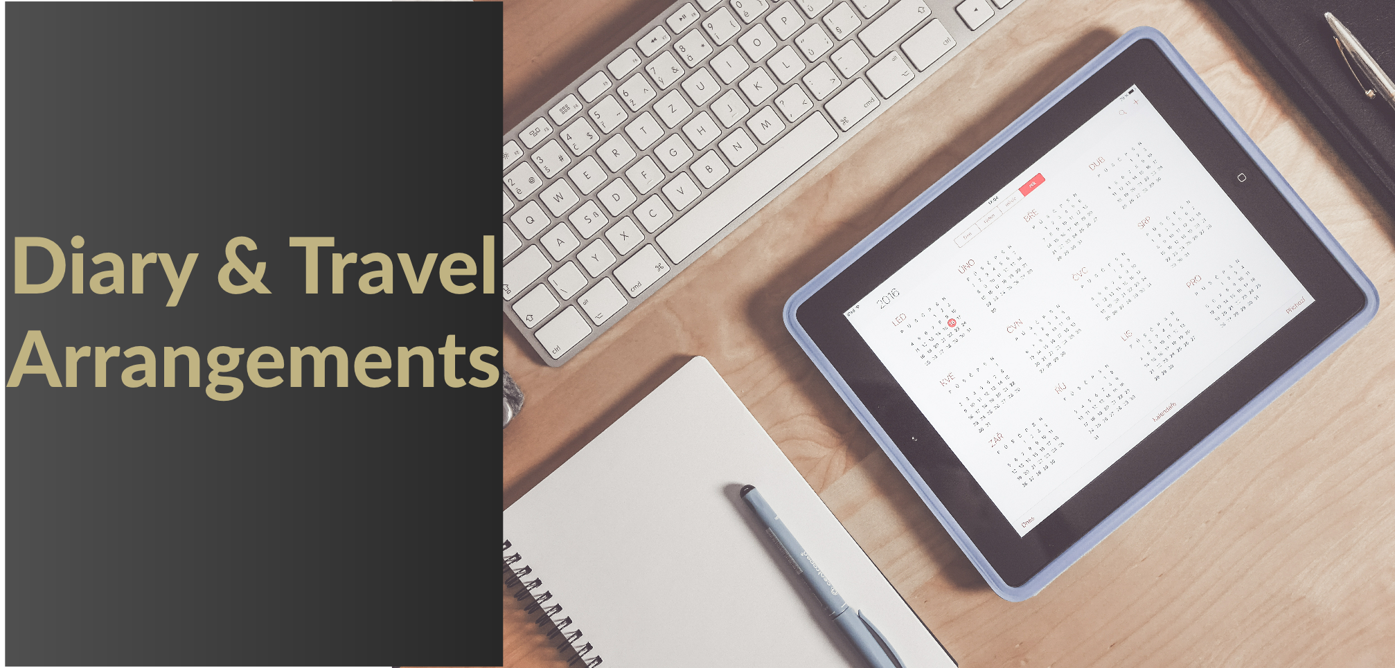DIARY AND TRAVEL MANAGEMENT